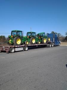 Load of Tractors from Hazlehurst Georgia Farm Equipment Auction